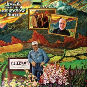 Seeds Cafe unveils mural honoring local food luminaries