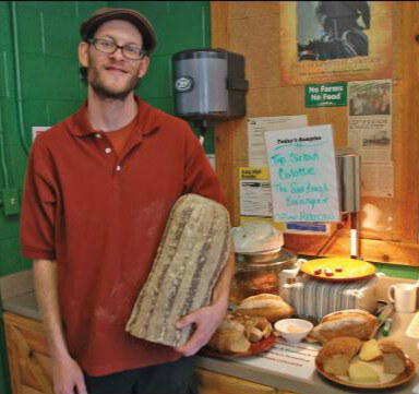Shawn Saunders, Bread Whisperer
