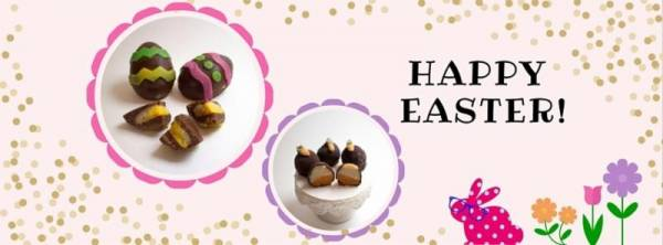 Radiantly Raw's Chocolate Easter Eggs
