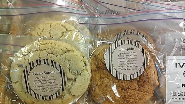 Now in store: Stephanie Saunders' homemade cookies
