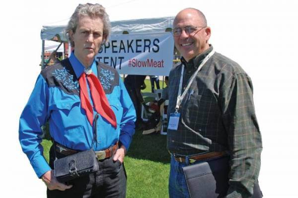 Collaboration with Temple Grandin – a partnership spanning 20 years