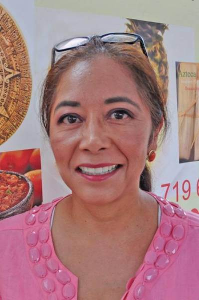 Lorena Jakubczak is owner of Azteca Gourmet Tamales in Colorado Springs