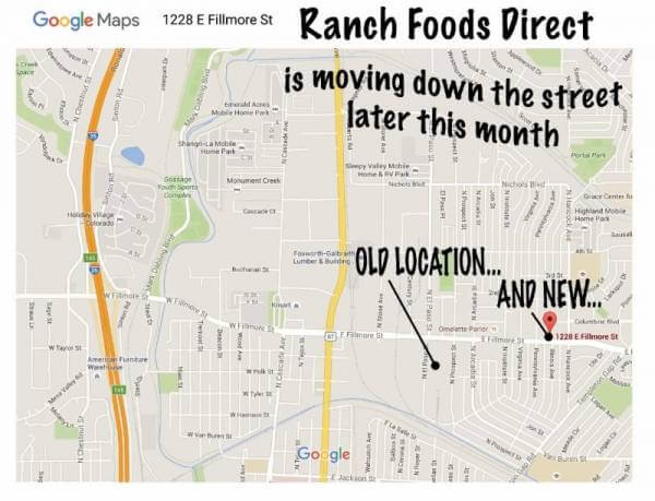 Ranch Foods Direct is moving!