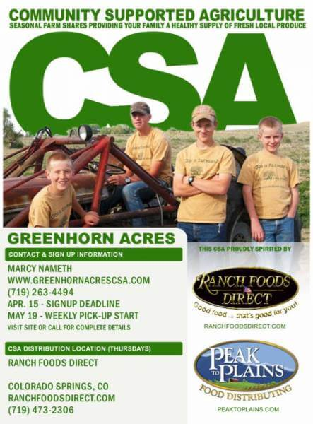 Spring is in the air… and it's CSA sign-up time!