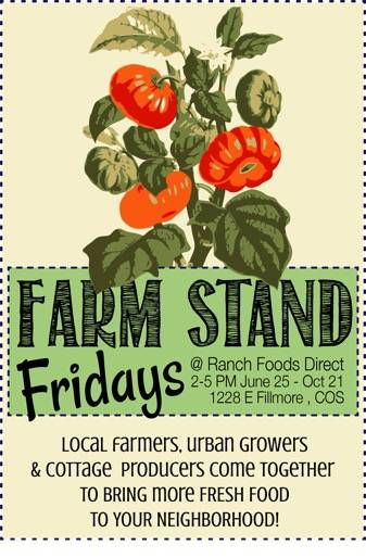 Farm Stand Fridays continue all summer