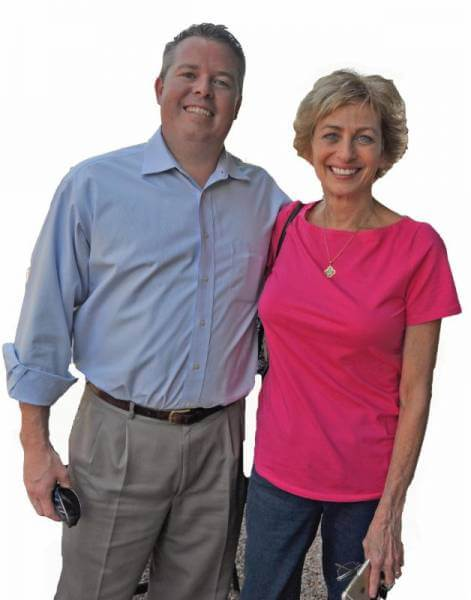 Meet Angela Carron and Scott Mayeux, executives with the Fostering Hope Foundation