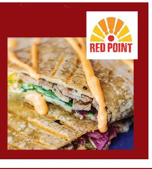 Cafe Red Point makes a point of sourcing local